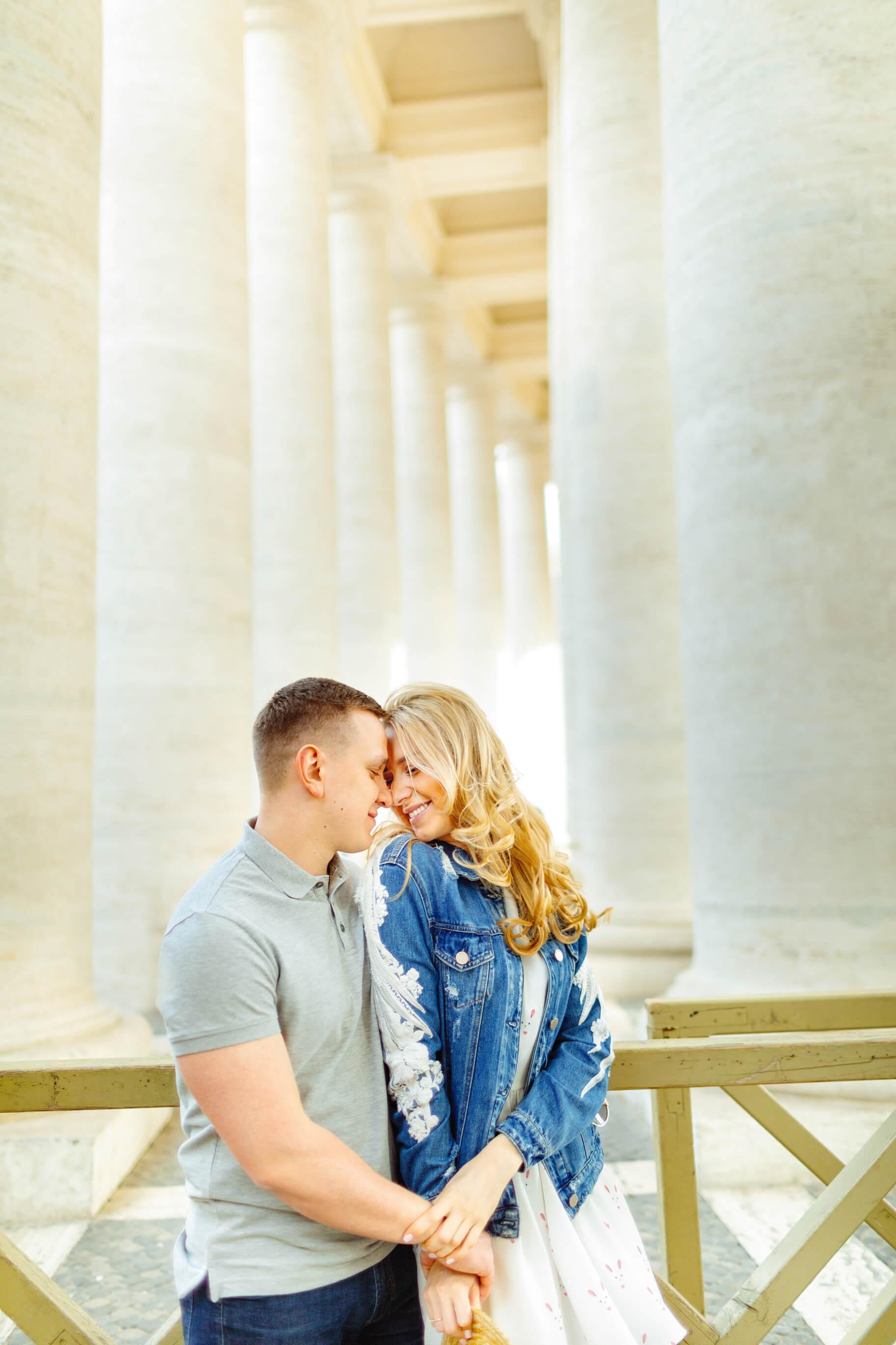 S + M  Pre Wedding Photoshoot in Rome, Italy