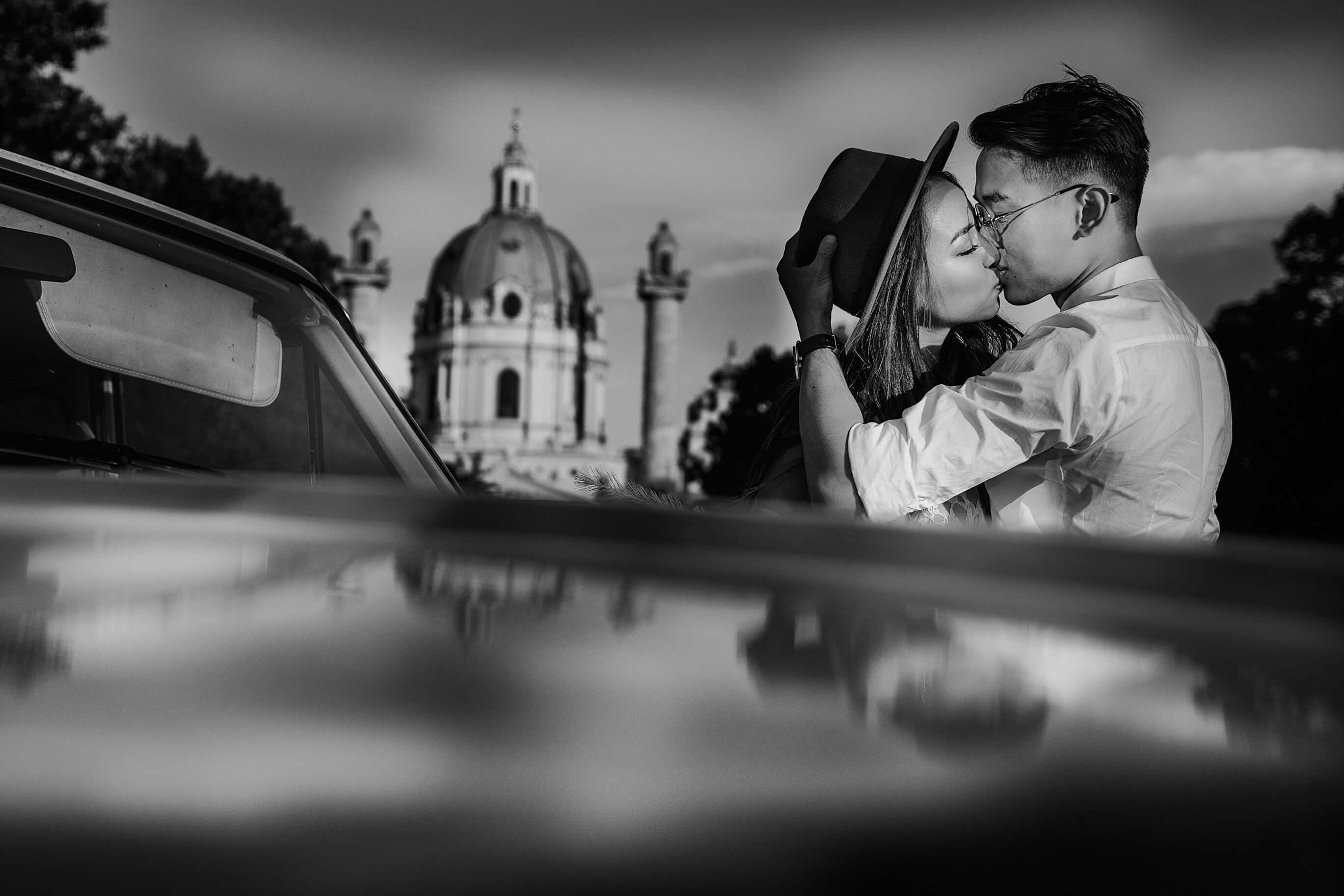 Couple Photoshoot in Vienne, Austria - Sergio Mazurini